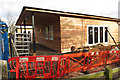 SP9111 : The Second Nursery Classroom under construction at Goldfield School, Tring by Chris Reynolds