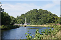 NH6543 : Caledonian Canal at Tomnahurich, Inverness by Mike Pennington