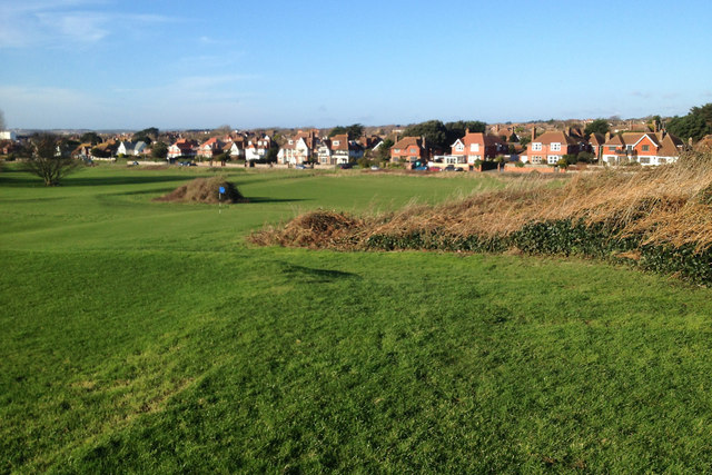 Chyngton Road, Seaford, has a view of the Seaford Head golf course