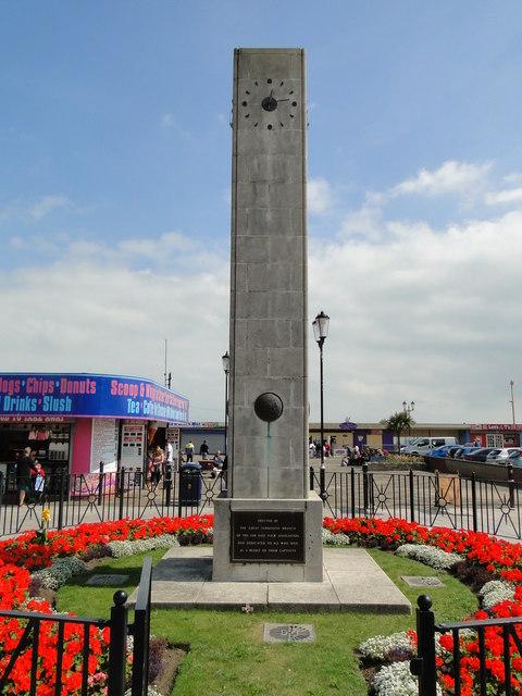Far East Prisoner of War Memorial in Great Yarmouth