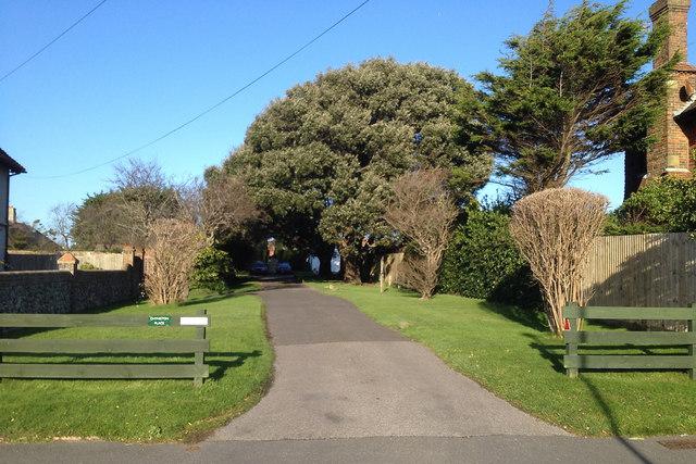 Drive to Chyngton Place, off Chyngton Road, Seaford