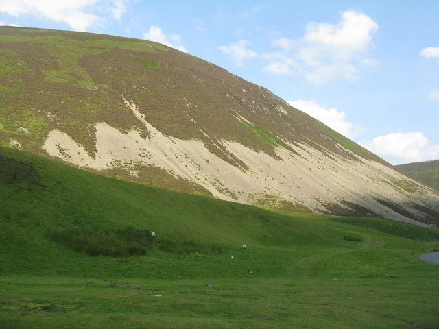 Auchengruith screes in the Mennock Pass