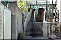 J3272 : Windsor Park railway footbridge, Belfast (August 2015) by Albert Bridge