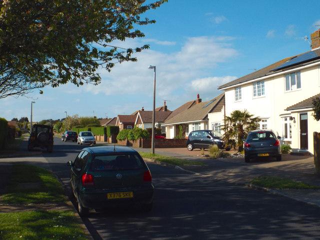 North Way off Upper Belgrave Road, Seaford