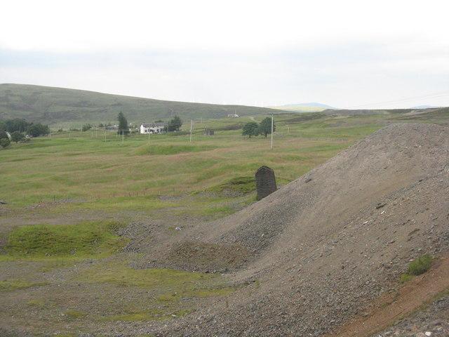 Building at Glengonnar Shaft