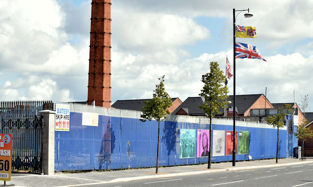 """The """"Monarch"""" site, Donegall Road, Belfast (August 2015)"""