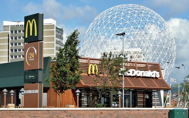 McDonald's, Glenmachan Street, Belfast (August 2015)