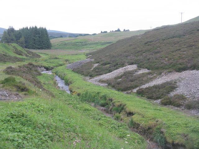 The Glengonnar water at Leadhills