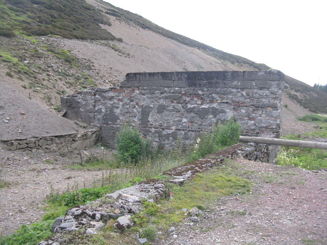 Lead mining remains in Glengonnar