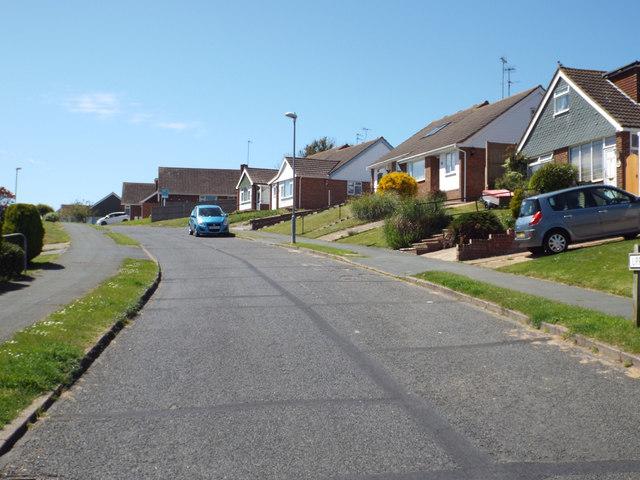 Northeast end of Upper Sherwood Road, Seaford