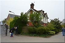 TQ5940 : Lodge, Grosvenor Park by N Chadwick