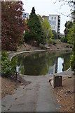 TQ5940 : Lake, Grosvenor Park by N Chadwick