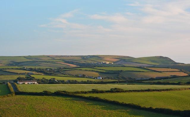 Evening at Lower Tresmorne, Cornwall