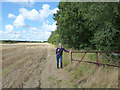 SD6308 : Footpath between Landlord's Farm and Hilton House by Gary Rogers