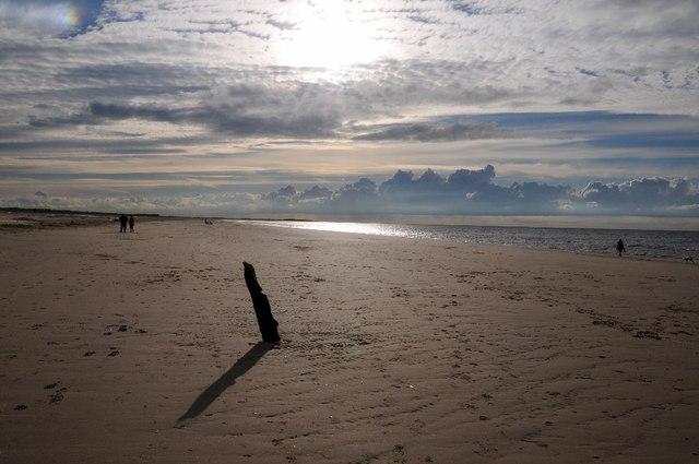 Beach on Brancaster Bay