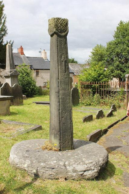 The Cross-Shaft at Saint Mael and Saint Sulien's Church, Corwen