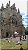 SX9292 : Exeter : Exeter Cathedral by Lewis Clarke