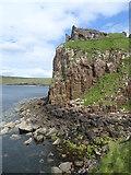 NG4074 : Duntulm Castle by Matthew Chadwick