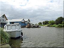 TG4419 : The new bridge at Martham Ferry by Evelyn Simak