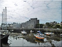 SC2667 : Castletown, Castle Rushen by Mike Faherty