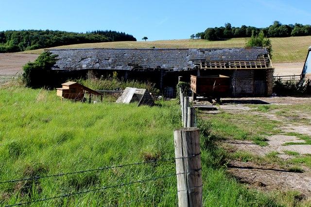 Dilapidated Outbuilding at Soakham Farm