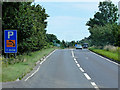 TF7710 : Eastbound A47 between Narborough and Swaffham by David Dixon