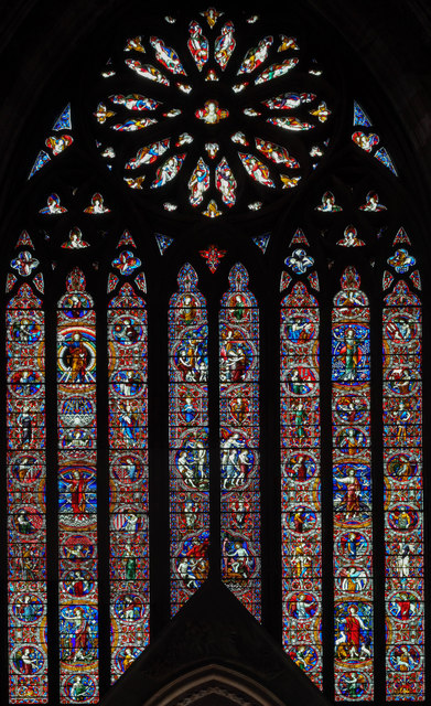 West window, Worcester Cathedral