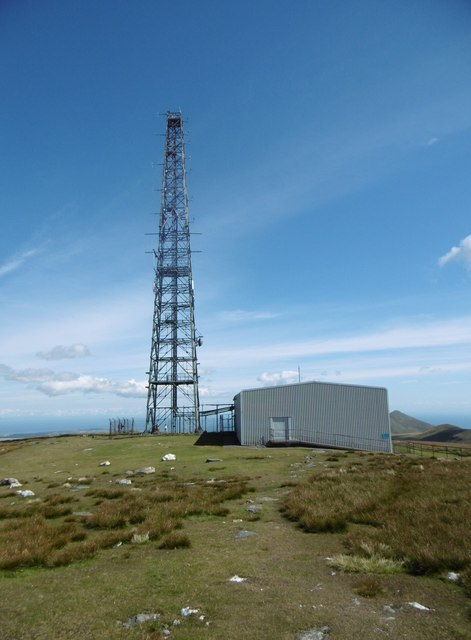 Snaefell, mast