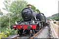 SJ0843 : Locomotive 5199 at Dwyrain Corwen East by Jeff Buck