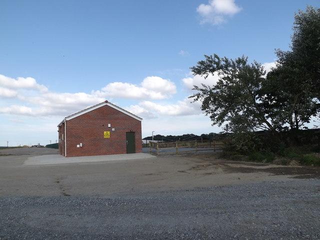 Control Room at Upper Holton Wind & Solar Farm