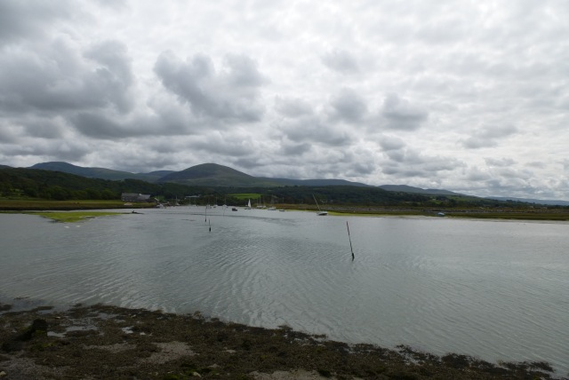 Artro estuary at Pensarn