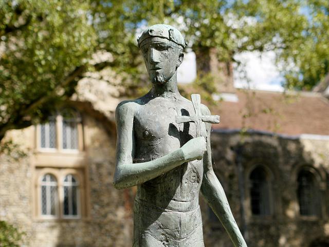 St Edmund (Close-up)