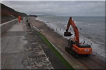 SX9777 : Dawlish : Coast Path & Beach by Lewis Clarke