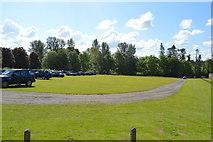 TQ5244 : Car park, Penshurst Place by N Chadwick