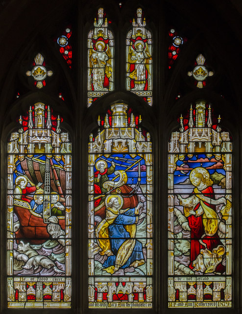 Stained Glass Window St James Church 169 Julian P