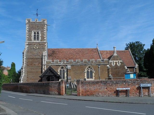 All Saints' church, Campton