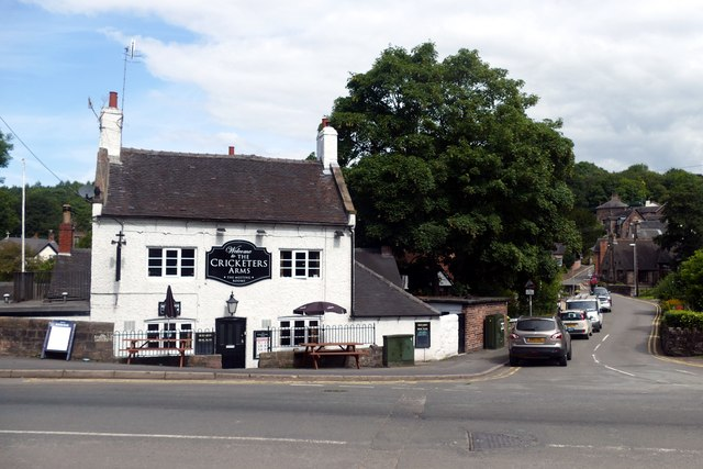 The Cricketers Arms, Oakamoor