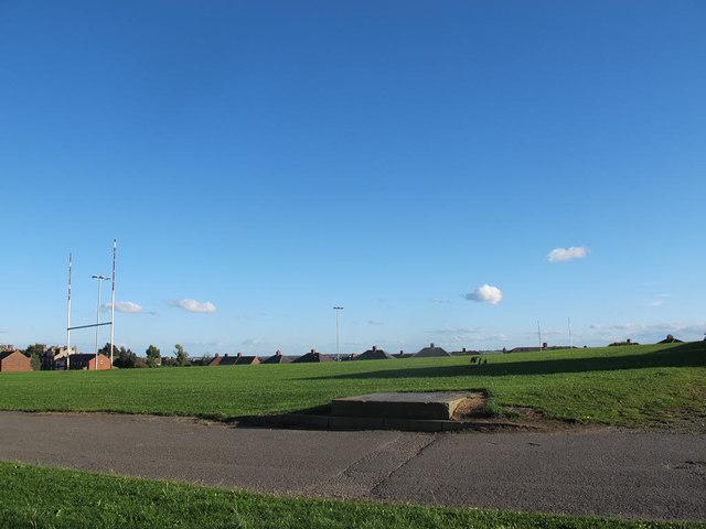 Bramley Park: rugby pitch