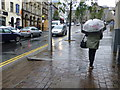 H4572 : Umbrella up, Omagh by Kenneth  Allen