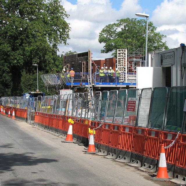 Gresham Road: new graduate accommodation going up
