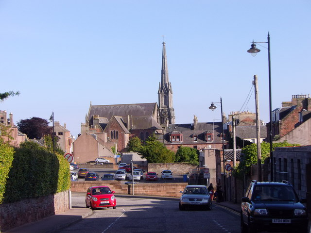 Steeple of Old Parish Church, Arbroath