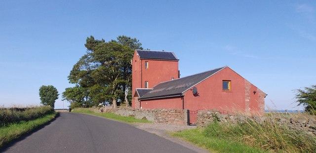 Former grain tower