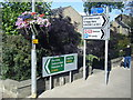 SE0126 : Street furniture at A646/B6138 junction, Mytholmroyd by Colin Pyle