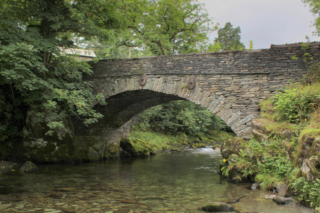Bridge at Elterwater Village