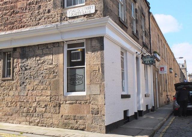 The Oxford Bar, Young Street Edinburgh