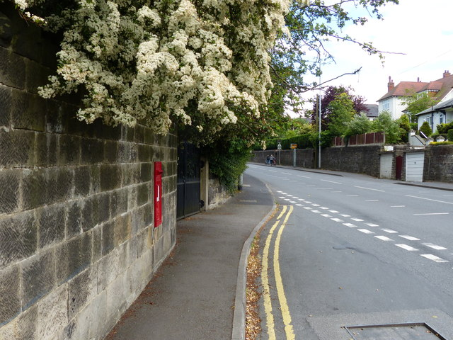Postbox along Ashby Road in Winshill