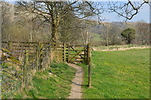 SD7186 : Gate, Dales Way by N Chadwick