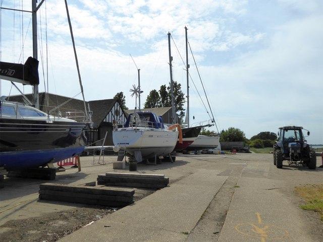 Boatyard, West Itchenor