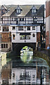 SK9771 : River Witham and High Bridge, Lincoln by Julian P Guffogg