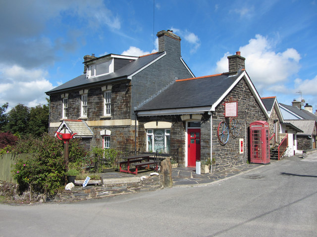 The old Post Office in Rosebush